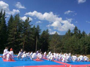 летен лагер карате деца summer camp karate kids