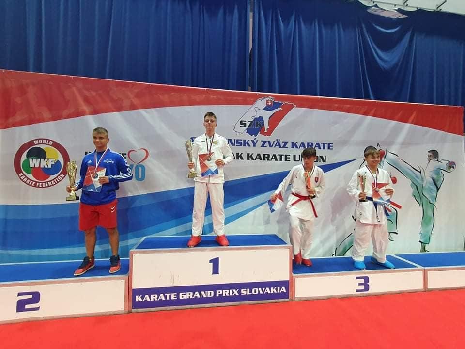 медали карате Цанев